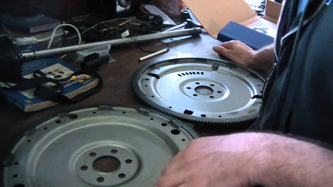 Transmission Torque Converter >> Ford 351W flexplate depth offset 302 which one - YouTube