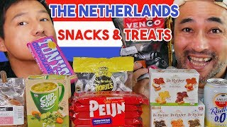 Japanese Try Dutch Snacks & Food