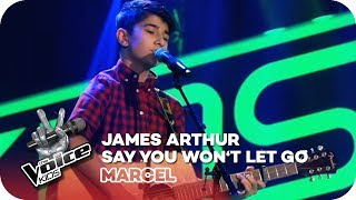 James Arthur – Say You Won't Let Go (Marcel) | Blind Auditions | The Voice Kids 2018 | SAT.1