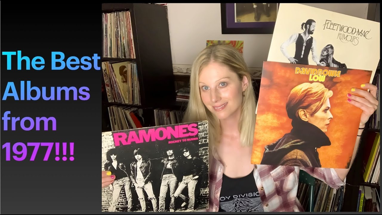 The Best Albums from 1977:  A Rundown of My Favorite Rock and Punk Albums! 🎸🔥