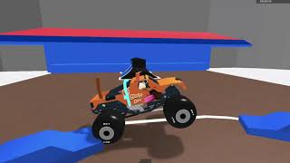 Roblox monster jam Tacoma, WA Freestyle (Broken physics but still somewhat realistic)