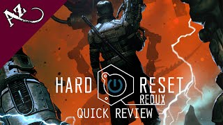 Hard Reset Redux - Quick Game Review