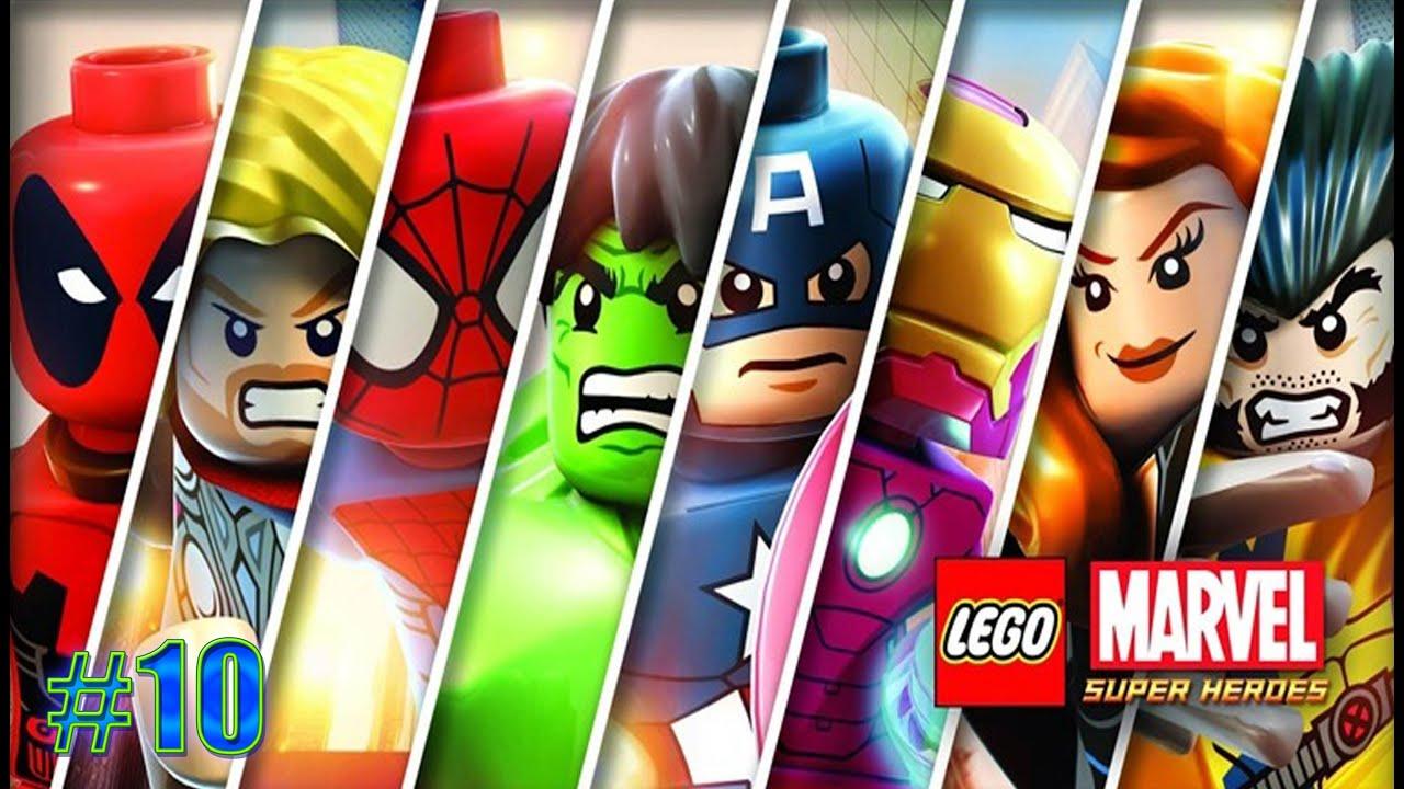 marvel lego heroes walkthrough