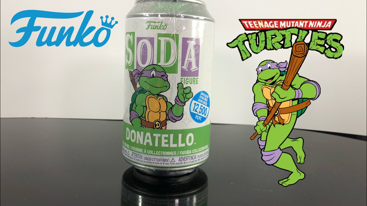 Funko Pop Soda Donatello {Pre-Order} TMNT Chance at Chase 1:6 Buy 6 Get a Chas