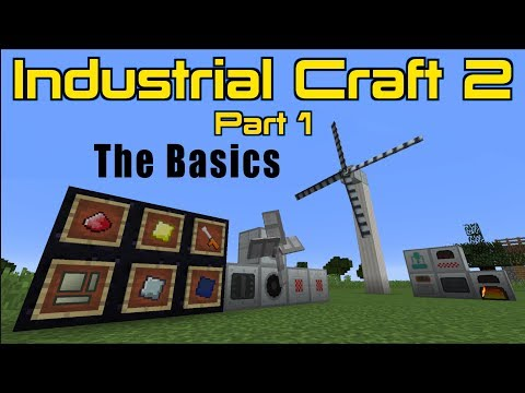 Industrial Craft 2 (Part 1) The Basics   Minecraft 1.12.2