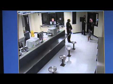 RAW VIDEO: Charles Hill booked into jail