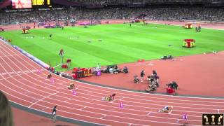 Olympics 2012 London Women's 400m Final  Sanya Richards Ross Gold Medal