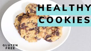 HOW TO MAKE HEALTHY CHOC CHIP COOKIES | EASY & HEALTHY GLUTEN FREE RECIPE