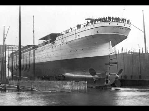 RMS Oceanic (II) at Harland&Wolff 1899, her build