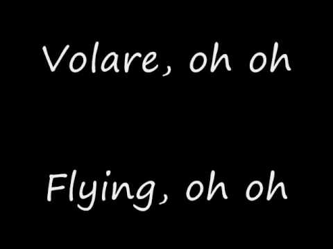 Volare by Gipsy Kings lyrics + English lyrics