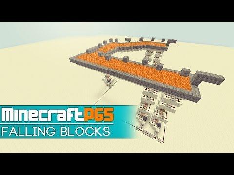 Falling Blocks Module For Adventure Maps - Minecraft 1.7