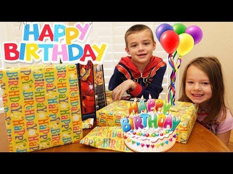 HAPPY BIRTHDAY ALEX - Birthday Morning Routine & Opening Presents |