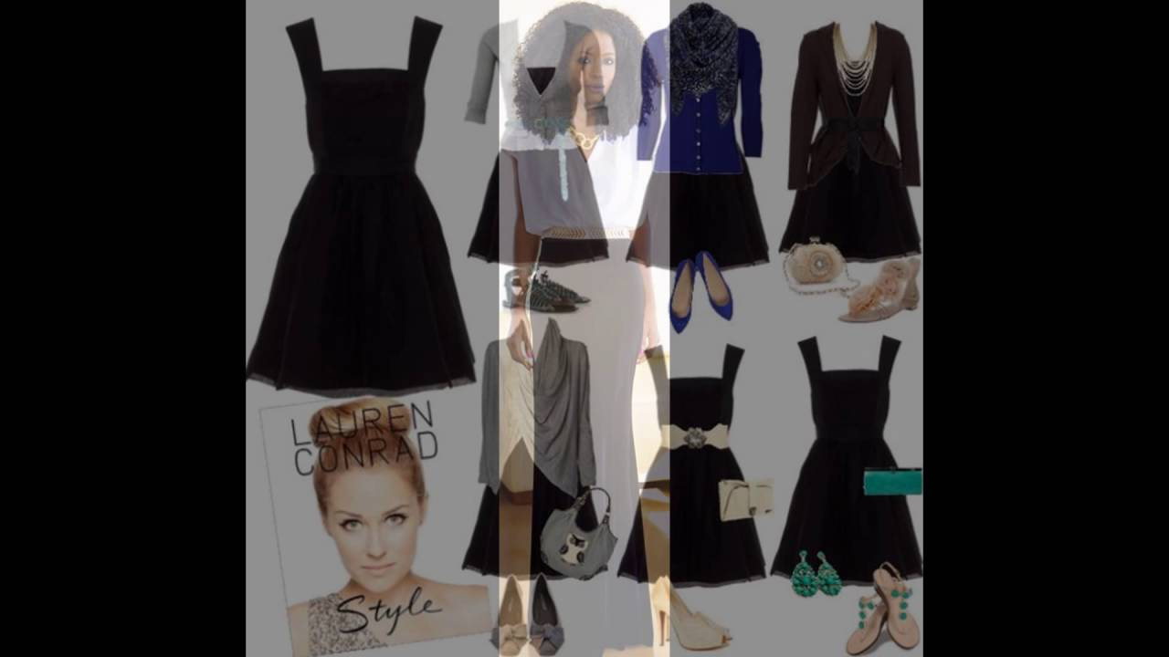 8186034bcb3 Stylish Black Velvet Dress Outfit Idea - YouTube
