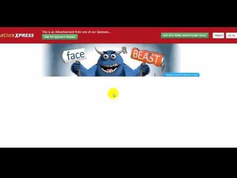 Ad Click Xpress  Рекламный сервис для заработка в Интернет без вложений Пакет 10$ в подарок