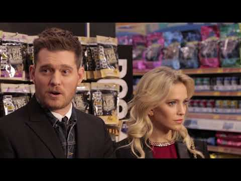 Michael Bublé and his wife Luisana Lopilato discuss Dog for Dog