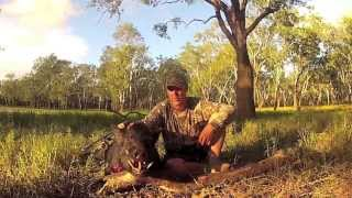 Bow Hunting Pig/Boar/Hog North Australia 2013 Part 2 of 4  Andy Thomsen Andysfishing EP.49