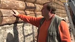 видео Утепление фасада деревянного дома