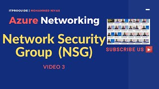 Azure Networking | How to Create Network Security Group, Associate with VM & Subnet | Video 3