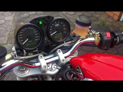 Ducati Monster 1000S after starter wiring upgrade