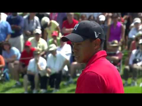 Tiger Woods' final round of 2012 Memorial