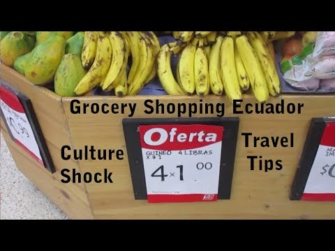 Cheap Ecuador Culture Shock Travel Tips - Shopping & Walking VLOG