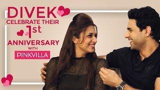 Divyanka Tripathi - Vivek Dahiya celebrate their 1st wedding a…