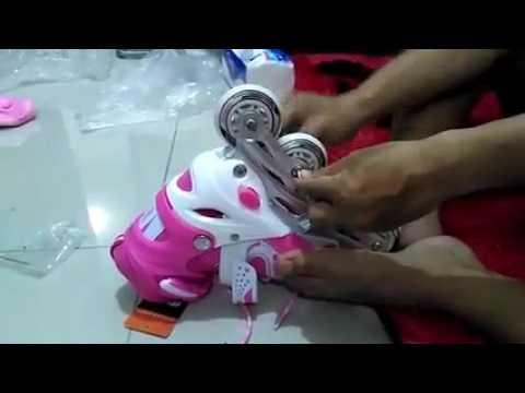 cara memasang roda bajaj pada sepatu roda - YouTube 92616c63e0