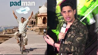 Sidharth Malhotra's BEST Reply On Aiyaary Clashing With Akshay Kumar's Padman