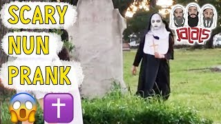 JALALS SCARY NUN PRANK COMPLIATION