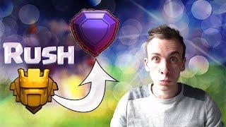 On remonte légende ? | Rush pépère ! | 4700+ | Clash of Clans FR