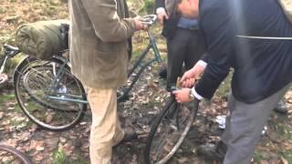 Oprava kola dubovým čepem