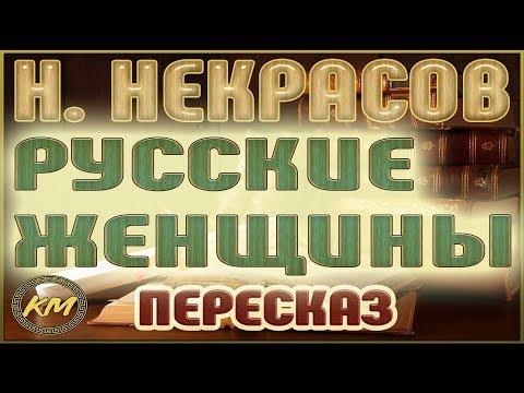 Русские ЖЕНЩИНЫ. Николай Некрасов