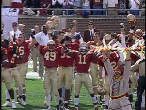 Deion Sanders, Warrick Dunn, Peter Warrick, Terrell Buckley - Florida State