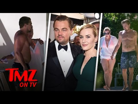 Leo DiCaprio and Kate Winslet Their Friendship Go On and On  TMZ TV
