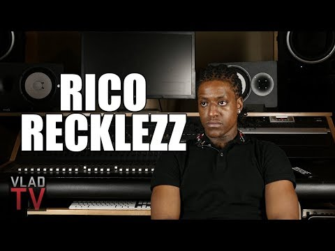Rico Recklezz Thinks DMX was High When He Met Him (Part 4)