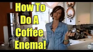 Repeat youtube video Tips For Making A Coffee Enema For Detoxing