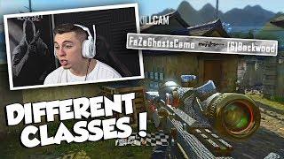 USING DIFFERENT CLASSES! (NUDAH WOULD BE PROUD) BO2 Trickshotting