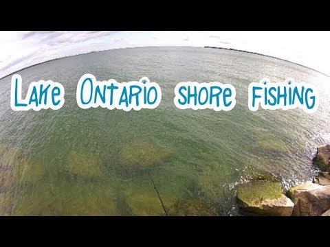 Lake Ontario Shore Fishing