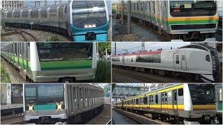 ついに帰ってきた 疾走!JR東日本 首都圏のいろんな電車が通過 JR-East Japan Railway Company thumbnail