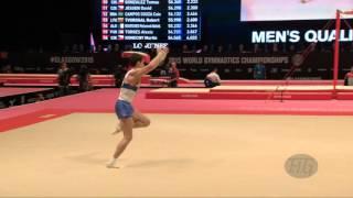 KUKSENKOV Nikolai (RUS) - 2015 Artistic Worlds - Qualifications Floor Exercise