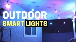 3 Easy Outdoor Smart Light Ideas