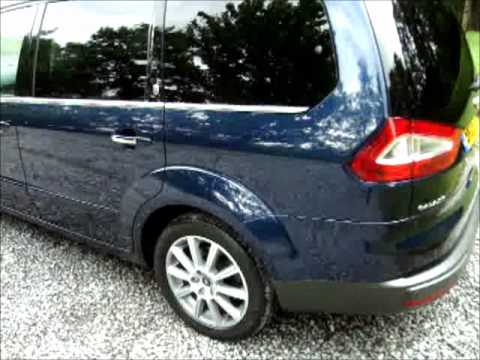2008 ford galaxy 2 0 tdci ghia 7 seat m p v youtube. Black Bedroom Furniture Sets. Home Design Ideas