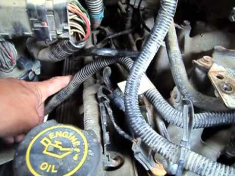 1988 Ford F 150 Wiring Diagram 91 240sx Radio 1998 5.4l V8 F-150 Pcv Line Vacuum Leak - Also, Need Some T-bird Parts Youtube