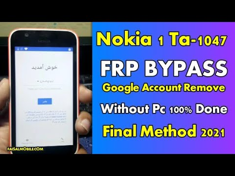 Nokia 1 (1047) FRP Google Account Bypass Without Pc New 2021 Method 100%...