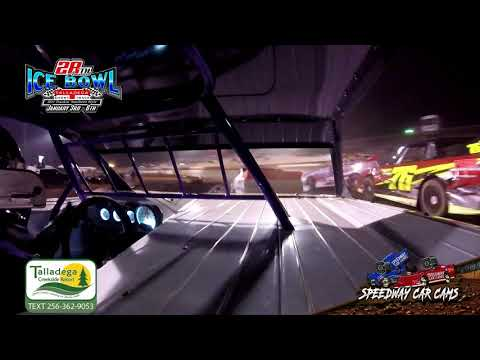 #K04 Krista Travis - Street Stock - 1-6-19 Talladega Short Track - In Car Camera