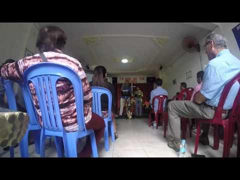 Cambodia University Student Fellowship Church Service 0ct 18 2015