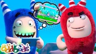 Terjebak Dalam Game   Oddbods   BARU   Kartun Lucu Untuk Anak