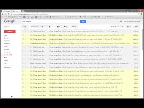 Gmail Gmail How To Select All