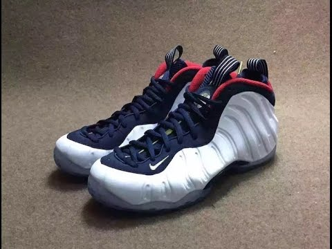 7c56133419e19 Celebrate America With The Nike Air Foamposite One Olympic - YouTube