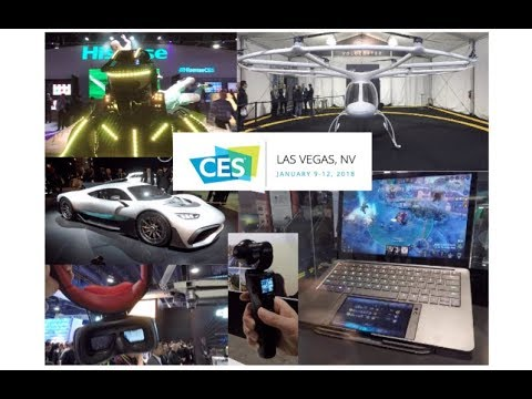 CES 2018 {all 4 days in one video}
